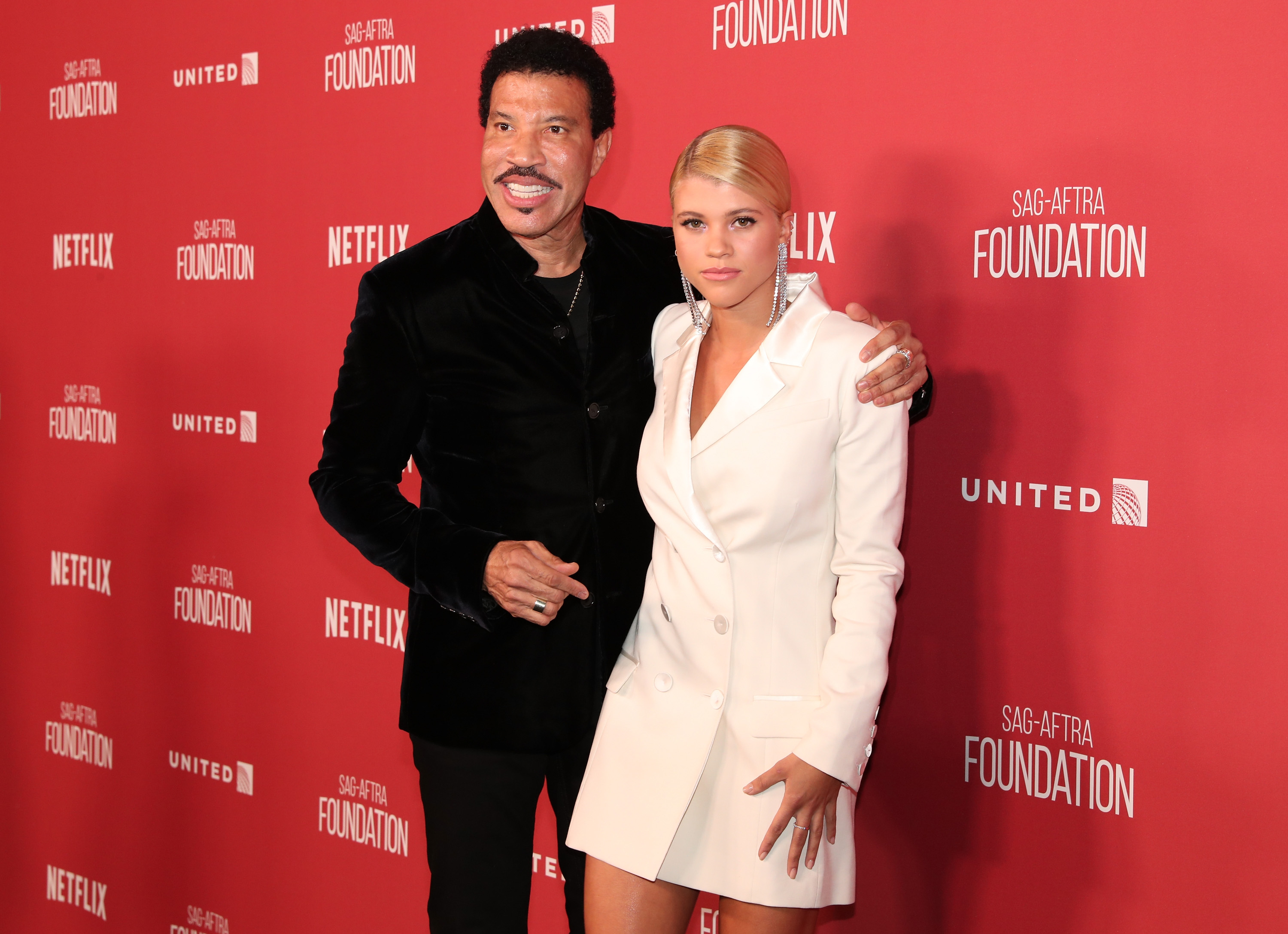 Lionel Richie and Sofia Richie