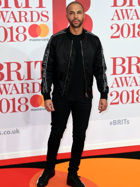 Marvin Humes BRIT Awards 2018