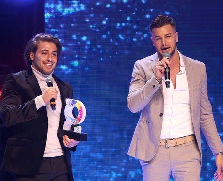 Chris and Kem The Global Awards 2018