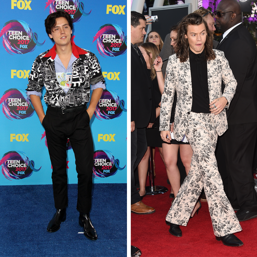 Wild About Harry >> Harry Styles & Cole Sprouse: The Fashion Icon & The New Kid On The Block - Capital