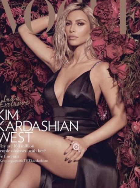 Kim Kardashian Vogue India cover