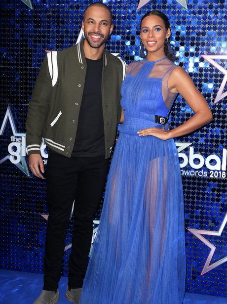 Marvin Humes and Rochelle Humes Global Awards 2018