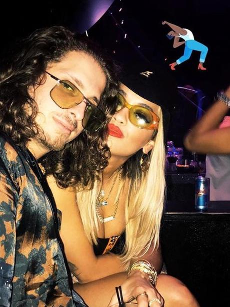 Rita Ora and boyfriend