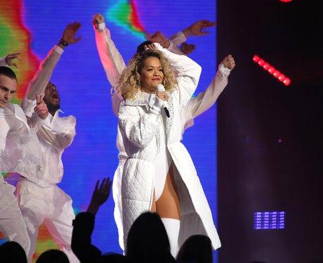 Rita Ora Global Awards 2018 performance