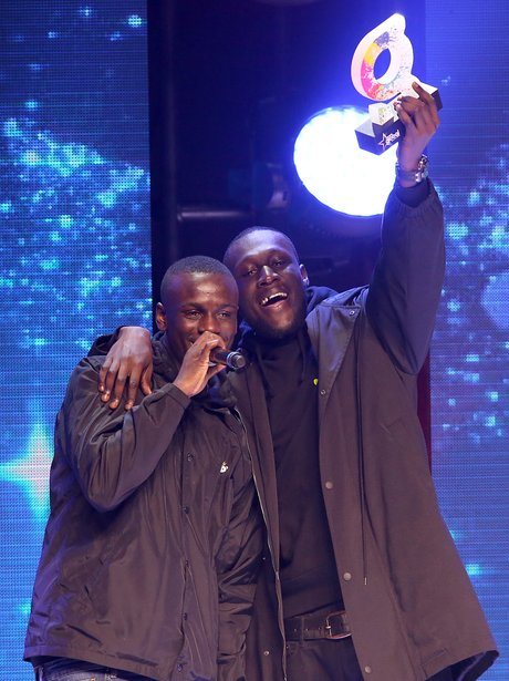Stormzy and DJ Tiiny The Global Awards 2018