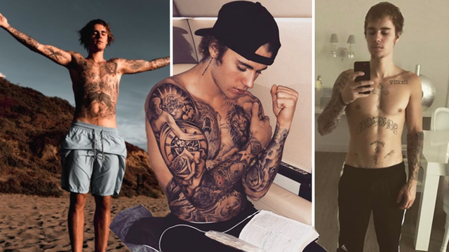Justin Bieber Tattoo Guide And Meanings From New Face Tattoo To That Selena Gomez Inking