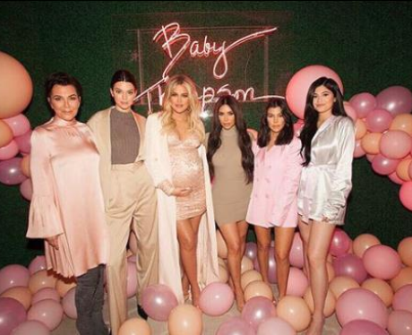 Kardashians At Khloe K Baby Shower