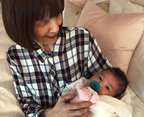 Kylie Jenner Grandma MJ With Stormi