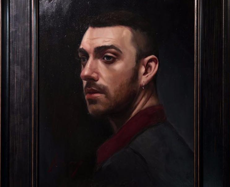 Sam Smith Oil Painting Twitter