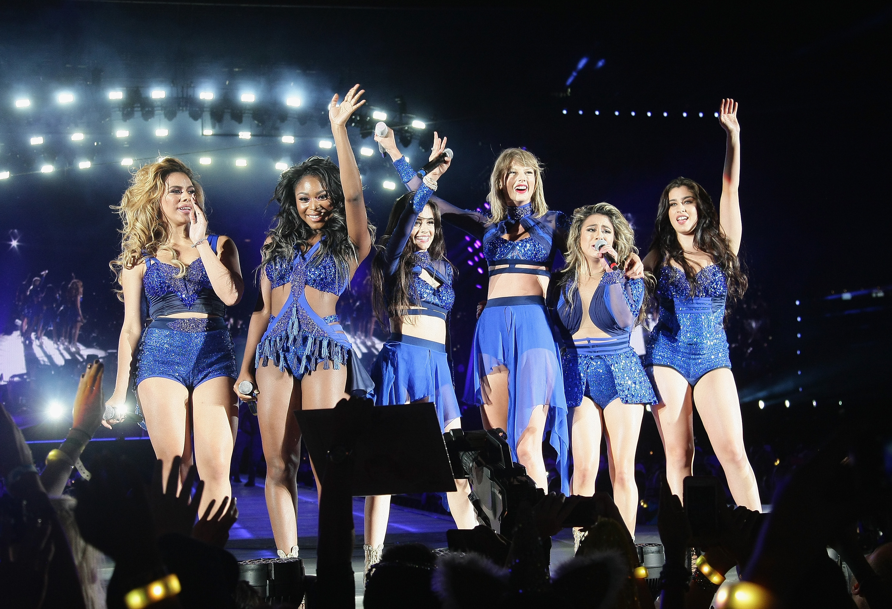 Taylor Swift and Fifth Harmony