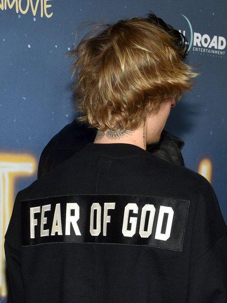 Justin Bieber Film Premier Jumper
