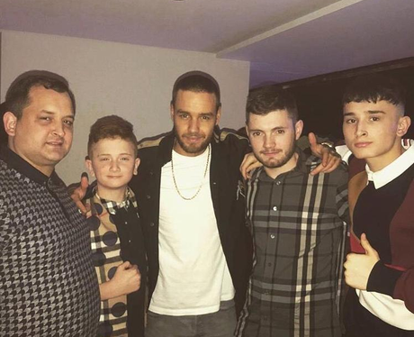 Liam Payne On Night Out With Cheryl's Brother Twit