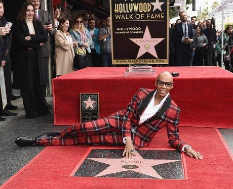 RuPaul Gets Hollywood Walk Of Fame