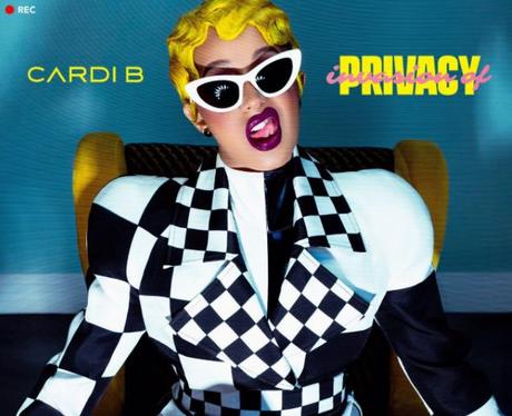 Cardi B New Album Cover