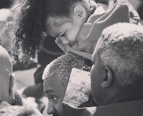 Kanye And North West Instagram