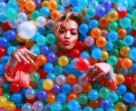 Rita Ora Ball Pit Instagram