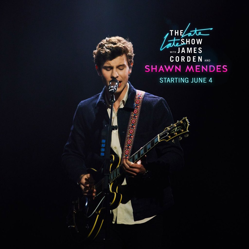 Shawn Mendes Late Late Show