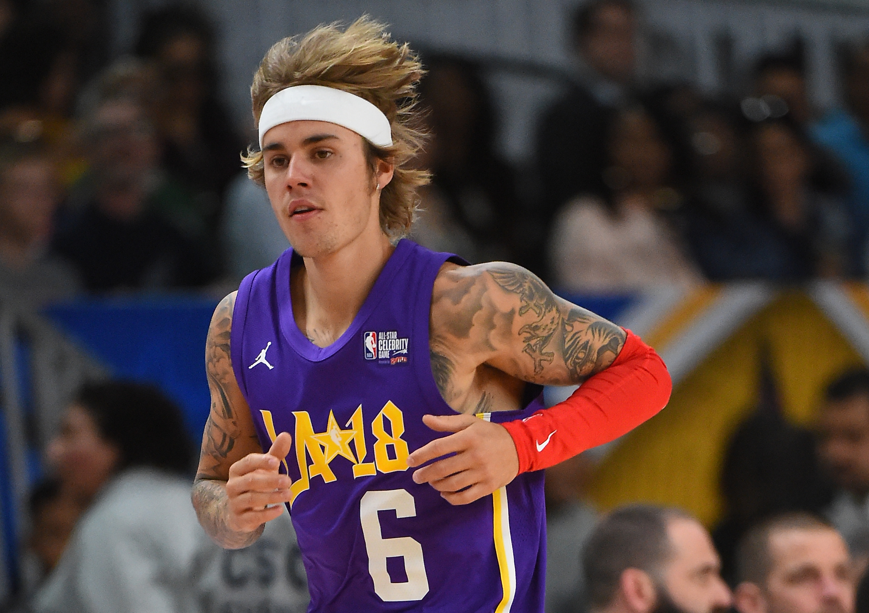 Justin Bieber 2018 NBA All-Star Game Celebrity