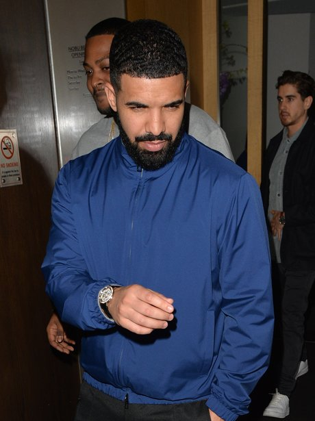 Drake Leaving Nobu Mayfair London