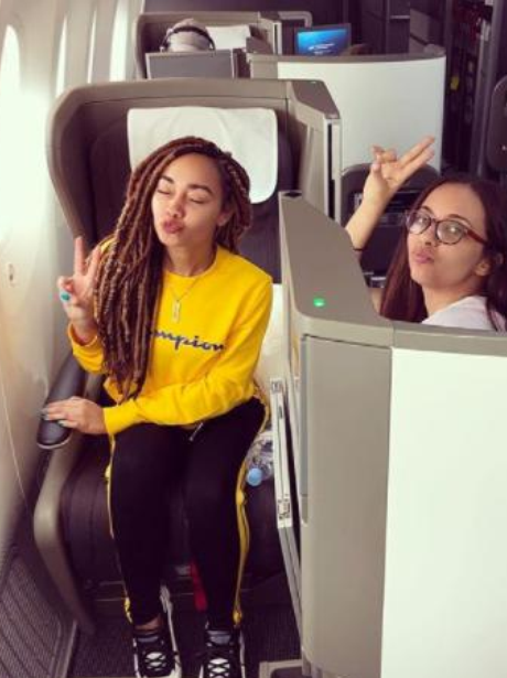 Half of Little Mix Jet To LA