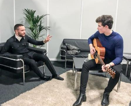 Liam Payne And Shawn Mendes