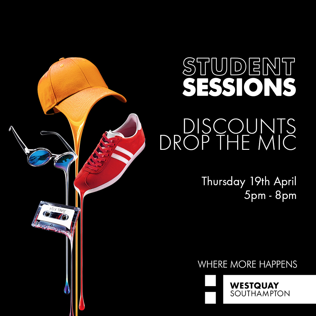 Westquay Student Sessions Promo 2018