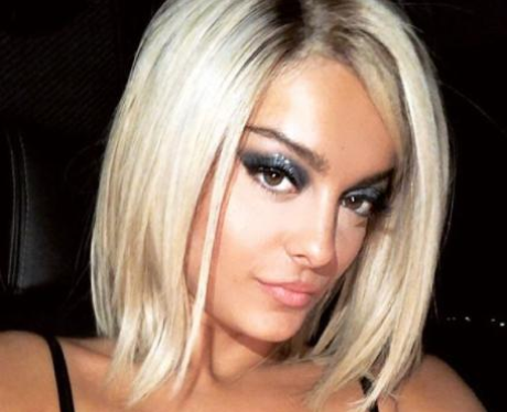 Bebe Rexha Shows Off Blonde Bob