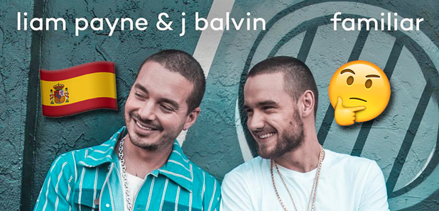 Liam Payn J Balvin Familiar