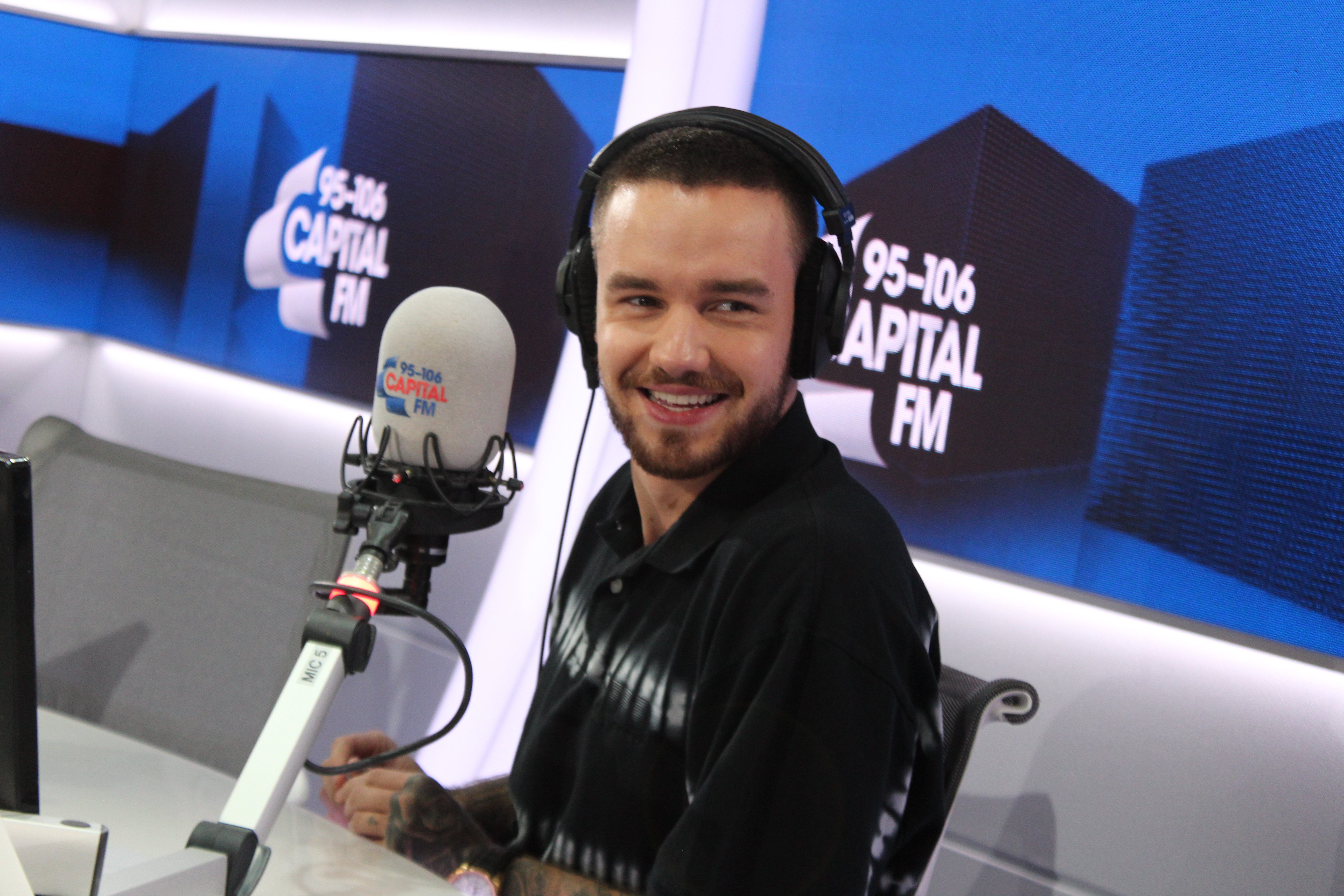 Liam Payne in Capital