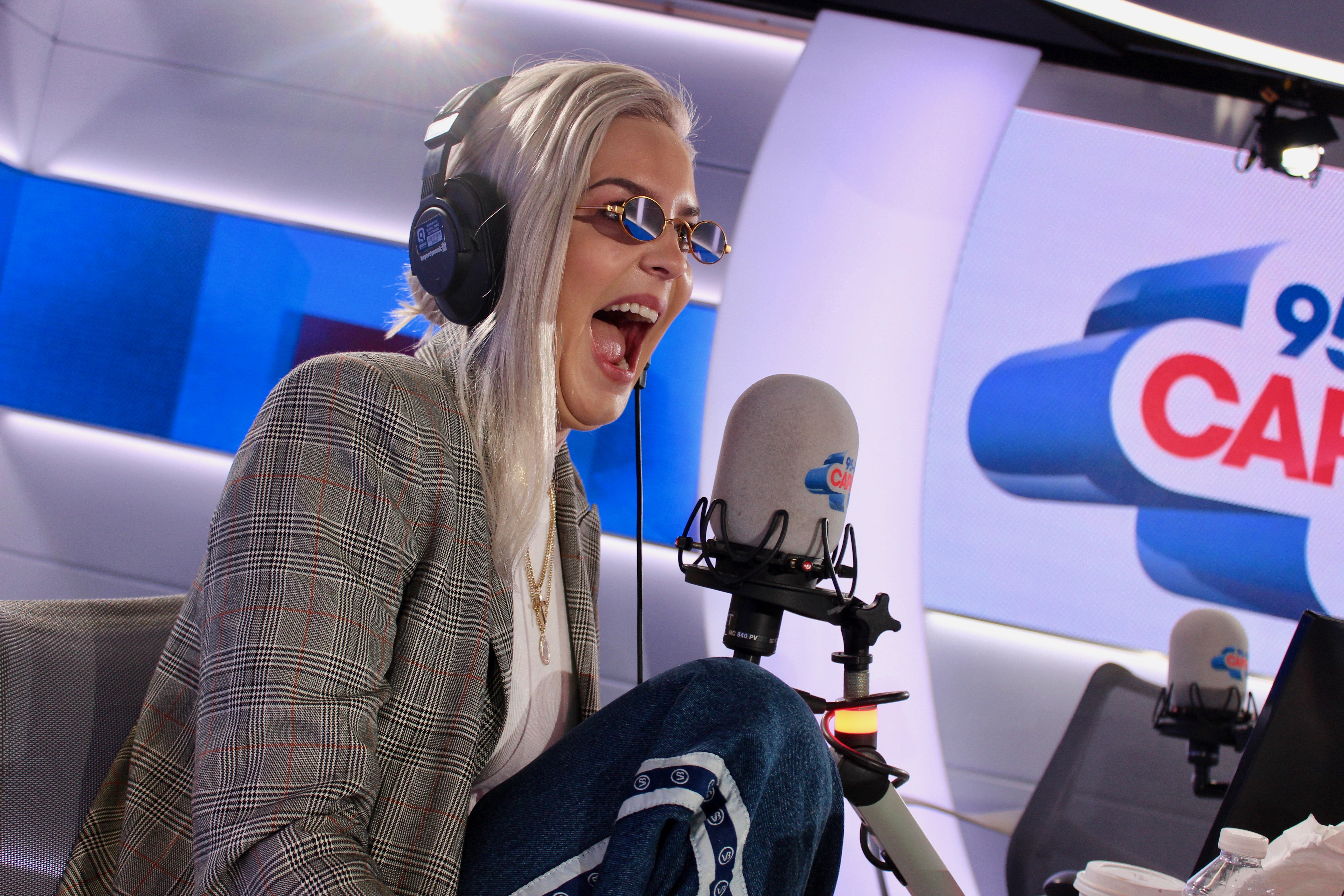 Anne-Marie with Capital FM