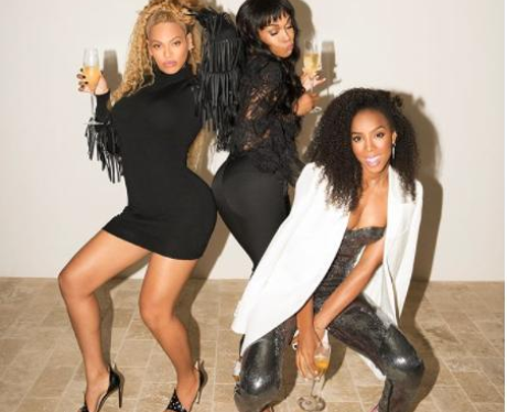Destiny's Child Messing About