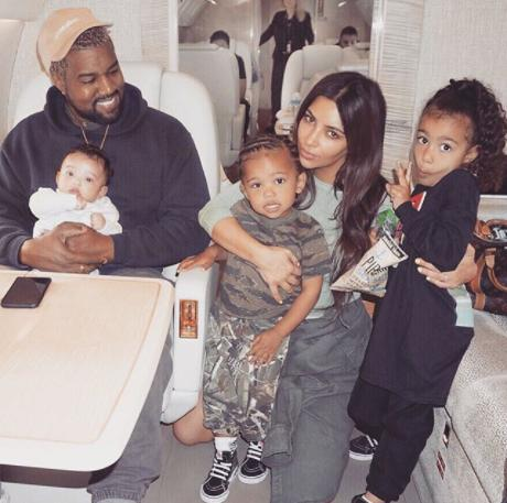 The Kardashian West Family