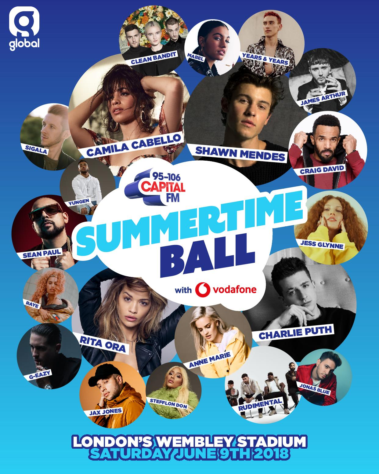 Capital's Summertime Ball with Vodafone 2018 Poste