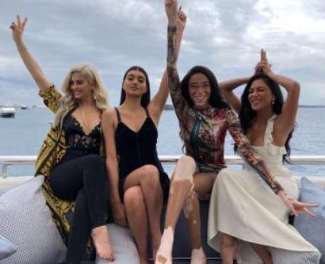 Bebe Rexha Nicole Scherzinger Cannes