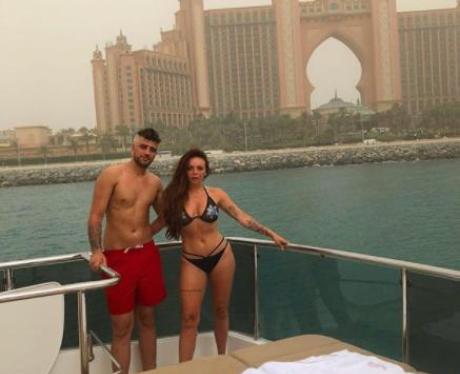 Jesy Nelson Dubai Boyfriend