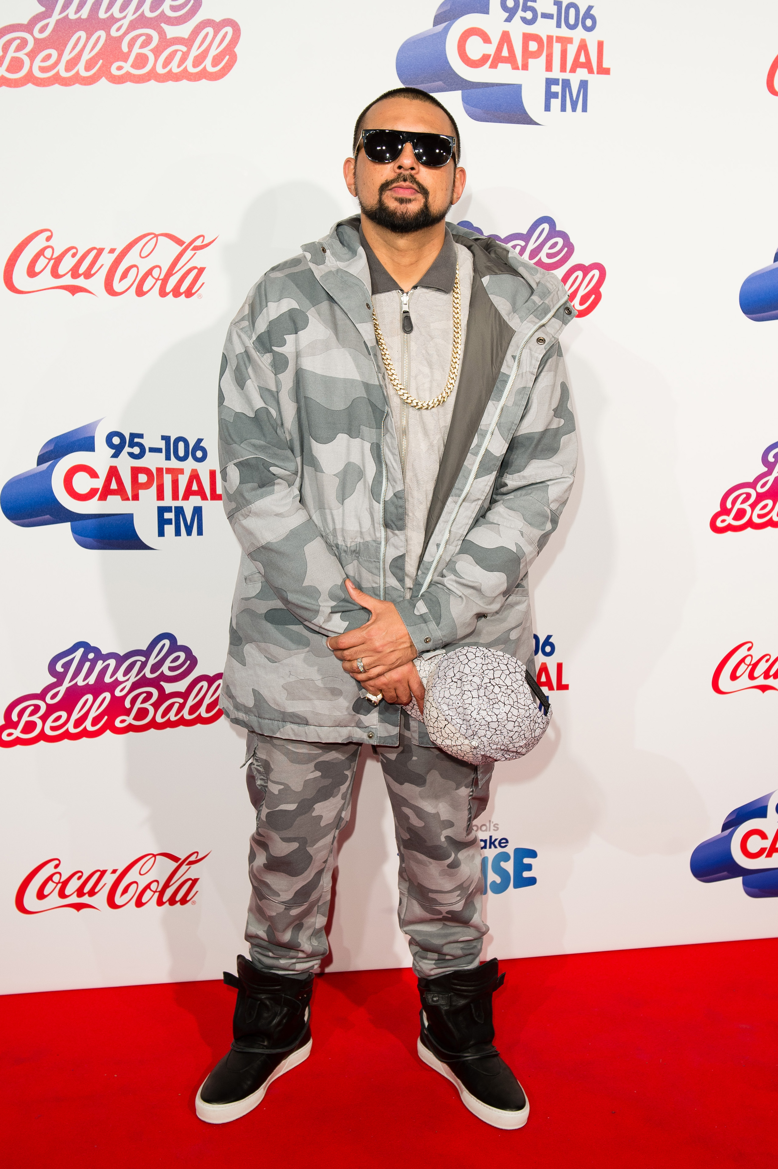 Sean Paul Jingle Bell Ball Red Carpet