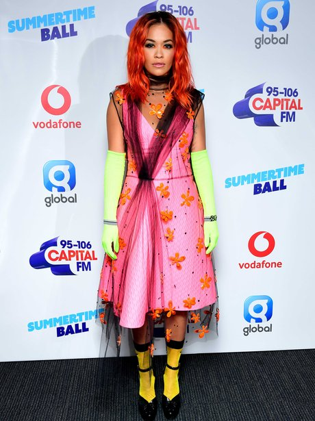 Rita Ora Summertime Ball 2018 Red Carpet - The Most Iconic ...