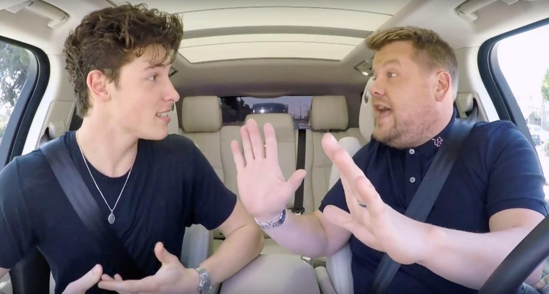 Shawn Mendes Goes Full Harry Potter Nerd In Carpool Karaoke Capital