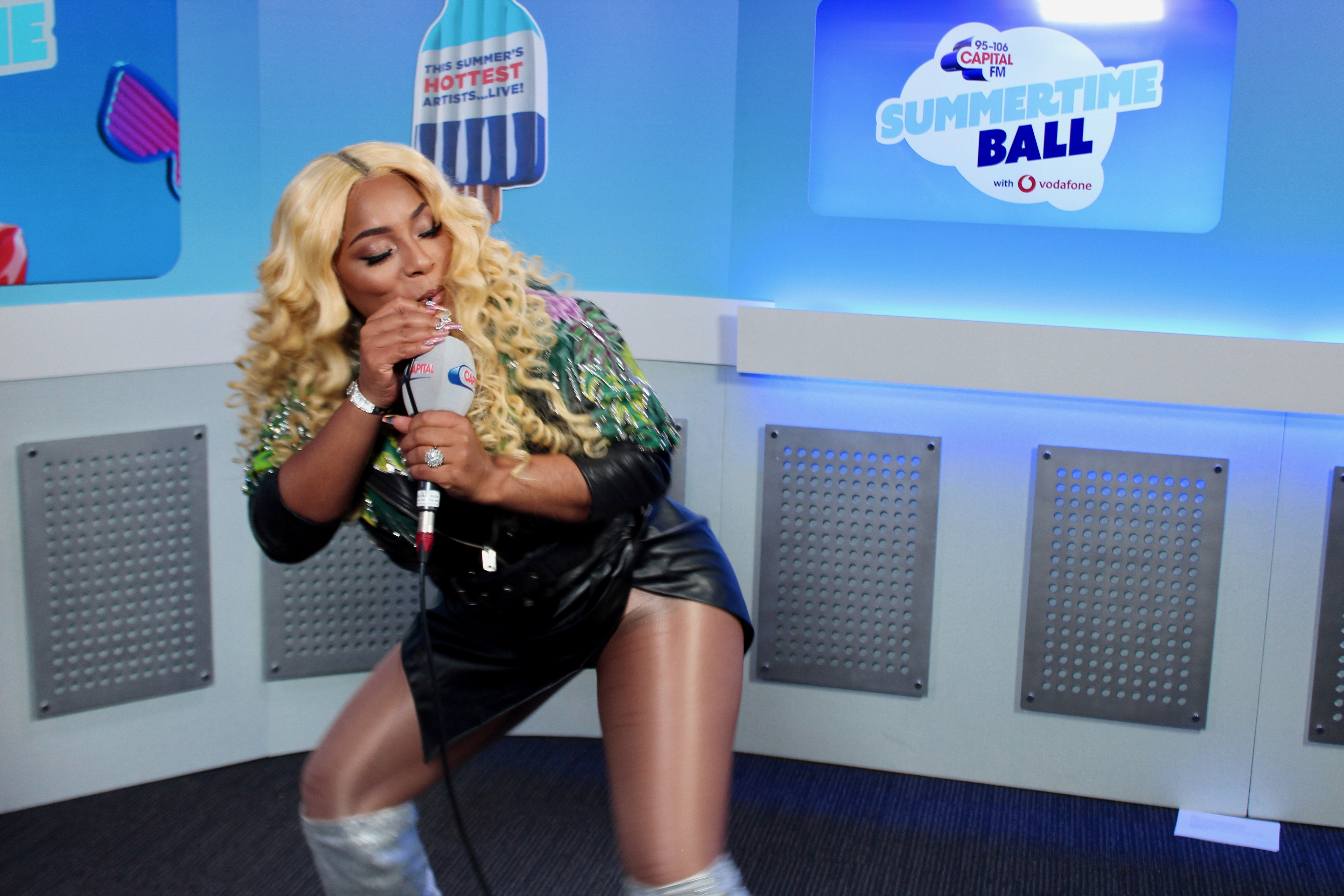 Stefflon Don Roman Kemp Summertime Ball 2018