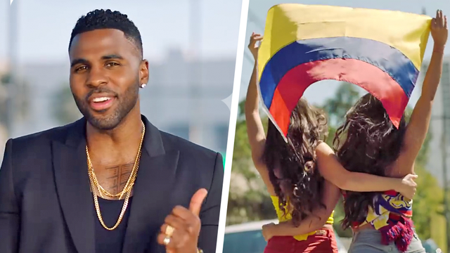 Jason Derulo's 'Colours' Lyrics For The FIFA World Cup 2018