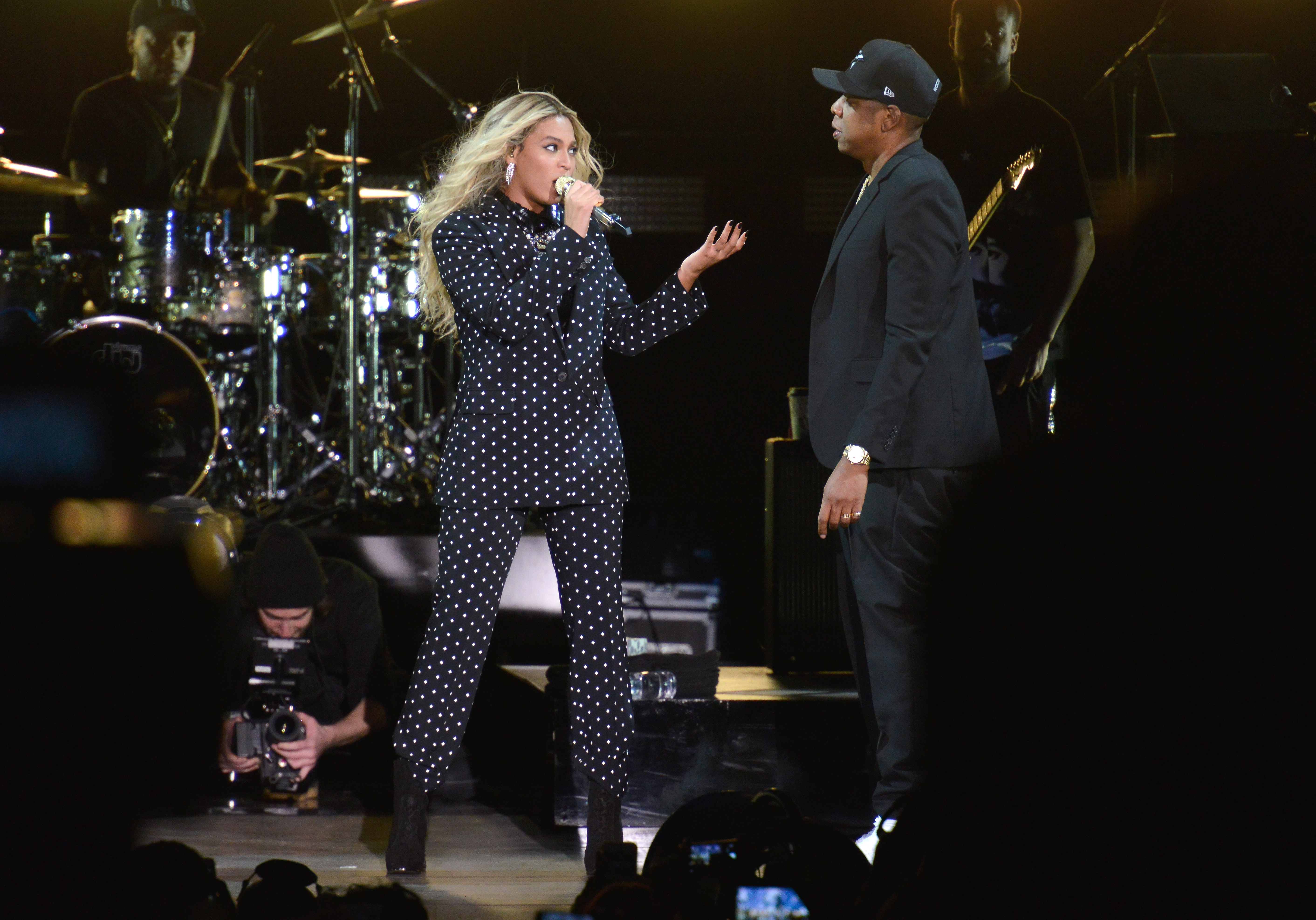 Jay Z Holds Get Out The Vote Concert