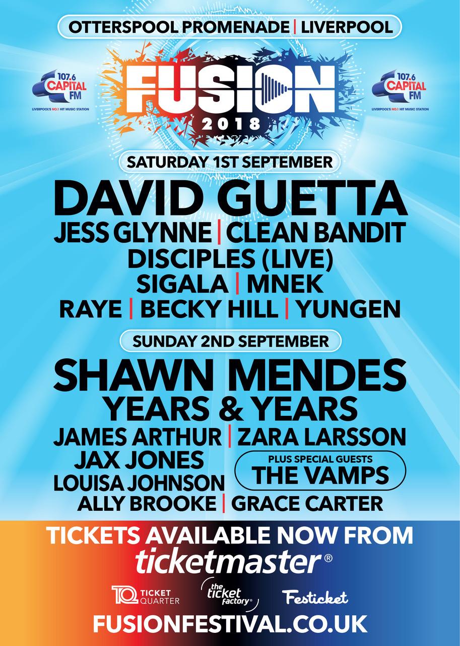 Fusion Festival 2018 Line Up