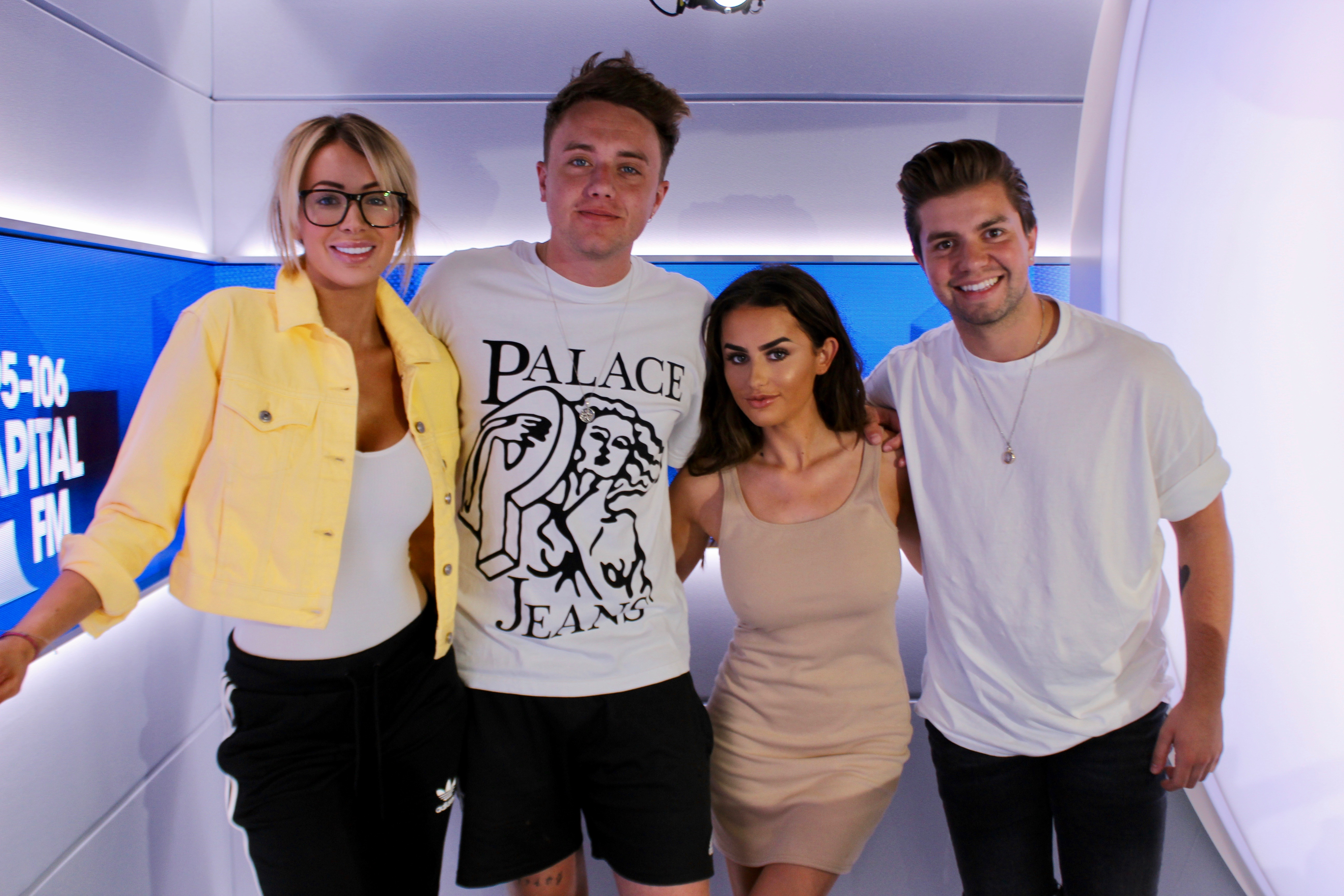 Olivia Attwood Amber Davies on Capital Breakfast