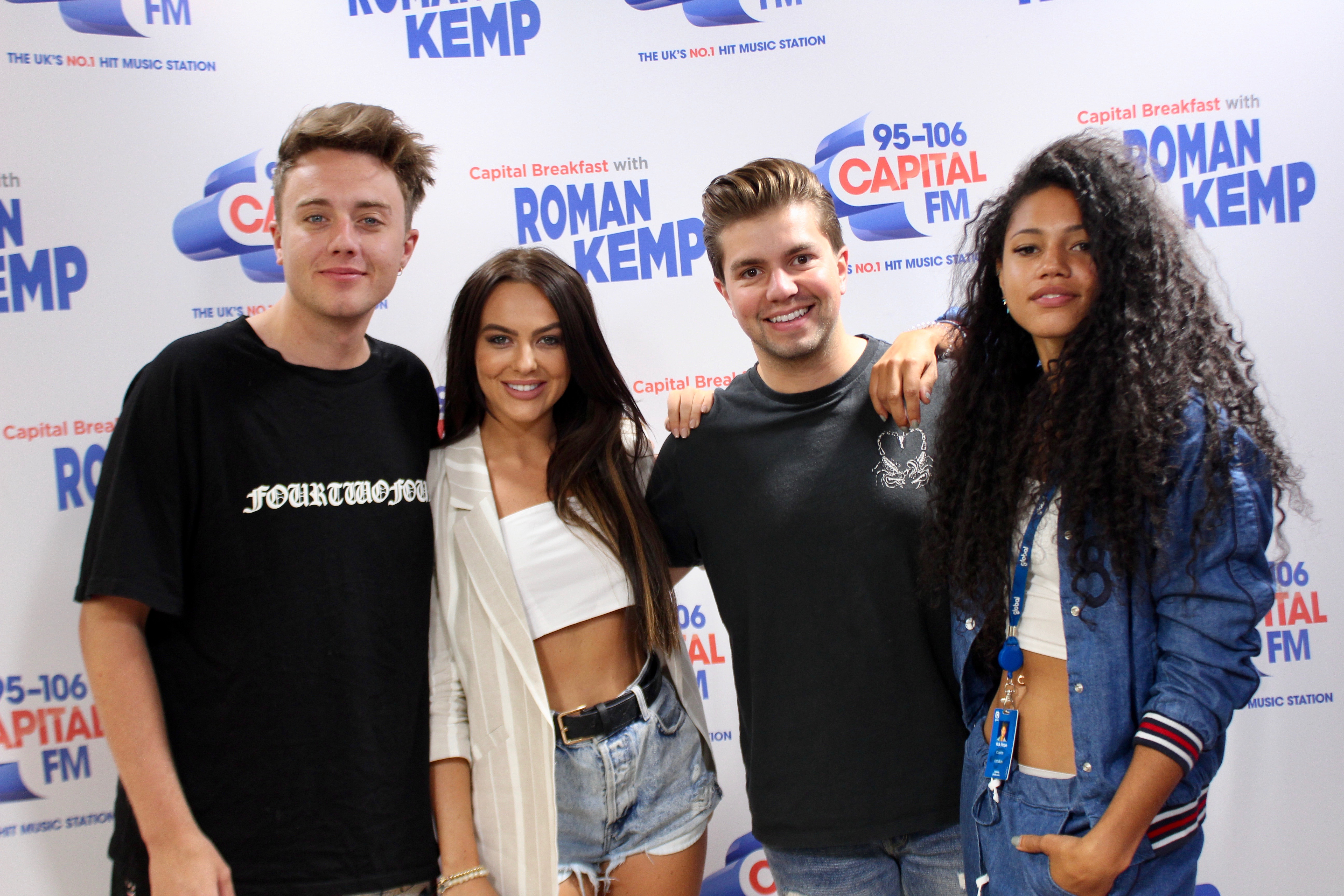 Rosie Williams on Capital Breakfast w/ Roman Kemp