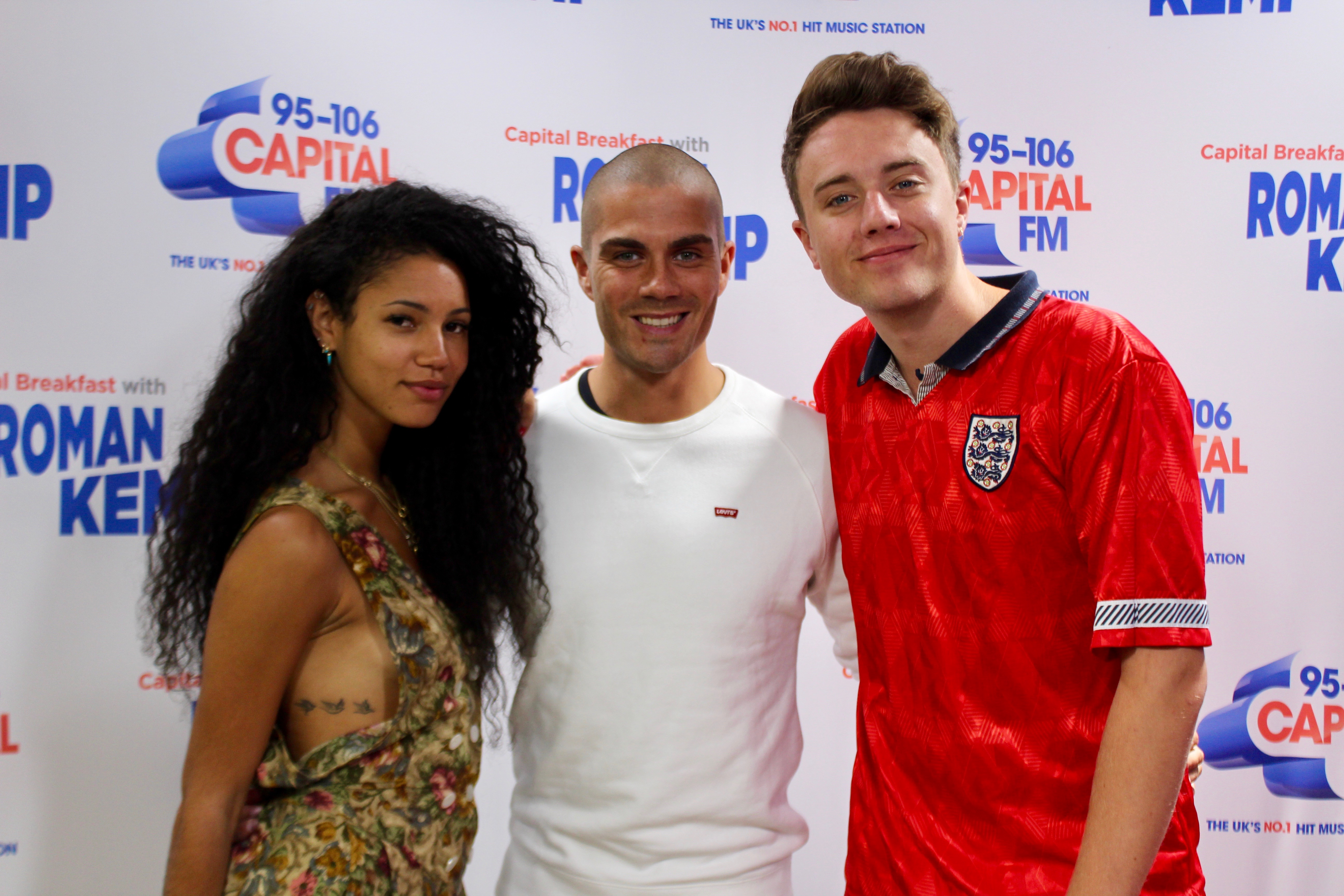 Max George on Capital Breakfast w/ Roman Kemp