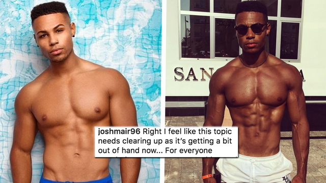 Love Island S Josh Mair Addresses Gay Rumours In Emotional Instagram Post Capital Get in touch with josh potter (@joshpotter45) — 718 answers, 795 likes. josh mair addresses gay rumours