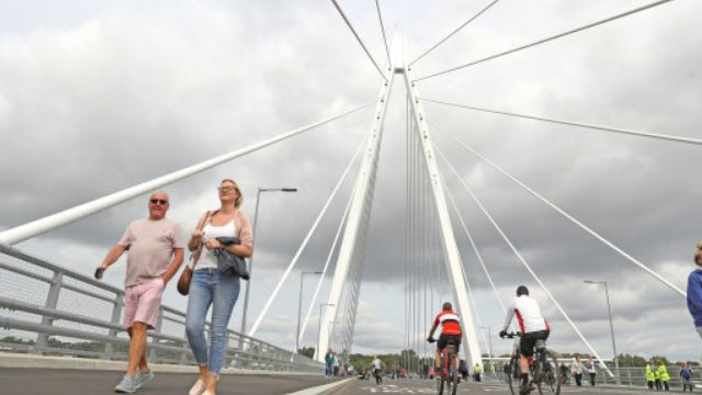 Where Are Nissans Made >> Sunderland's Northern Spire Bridge Opens - Capital North East