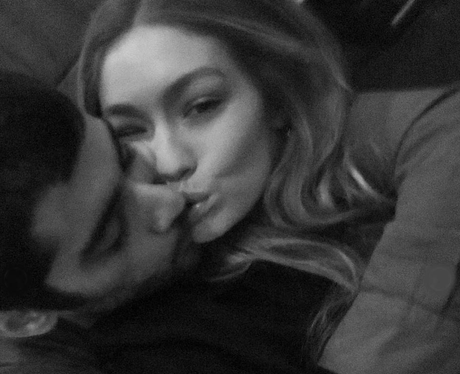Gigi Hadid and Zayn look loved up