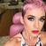 Image 3: Katy Perry pink hair instagram 2018