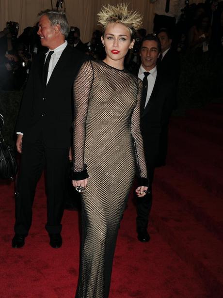 Miley Cyrus Met Gala 2013